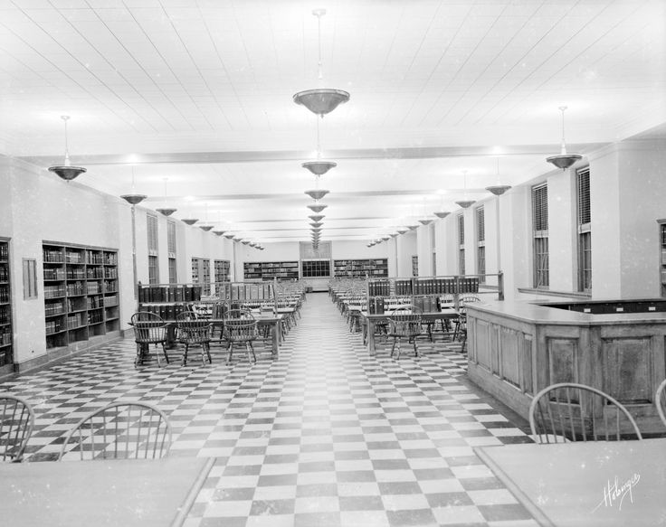 Alderman Library, University of Virginia from Negatives from the ...