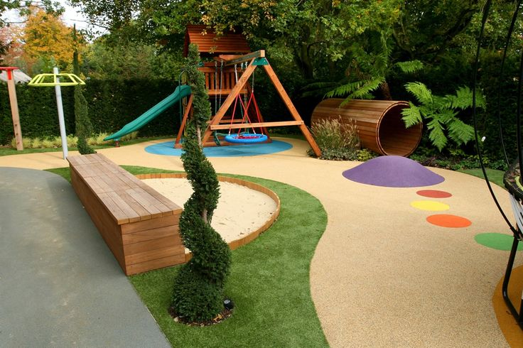 my dream fun garden for little 'un ....