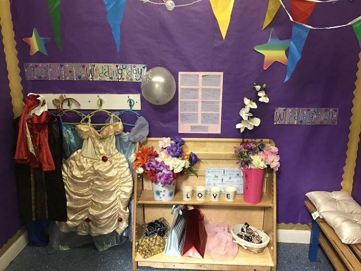 Wedding Role Play Area. #Reception #Wedding