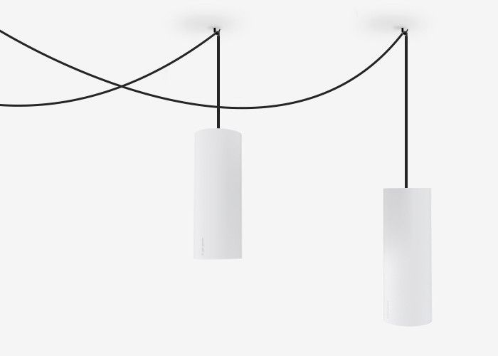 LED Pendant Light Dimmable 16.5W in Black or White 26cm Curve Brightgreen | GoLights.com.au