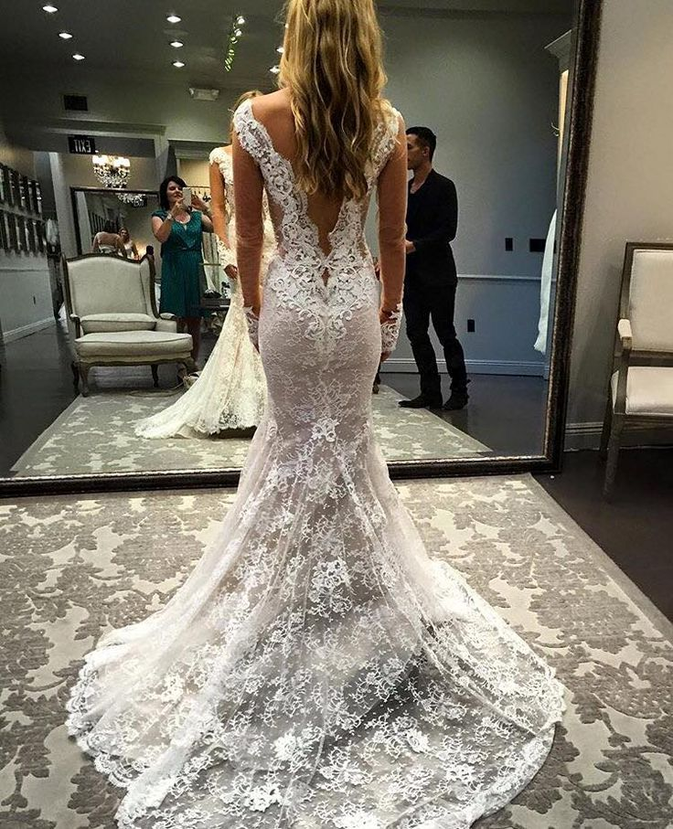 Back view of our Ines Di Santo 'Madrid' gown at @lovellabridal