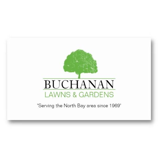 22 best Lawn Service Business Cards images on Pinterest