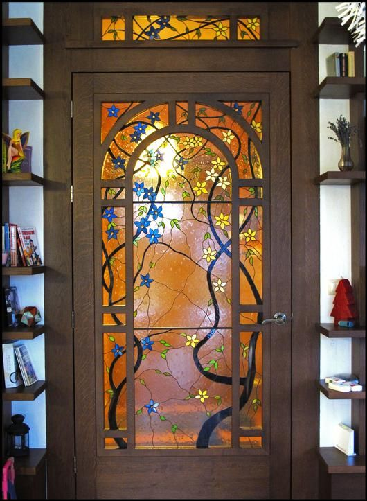 90 best stained glass doors images on pinterest glass doors 2013 large panels 2nd place summer vines by vessela leaded glassstained planetlyrics Choice Image