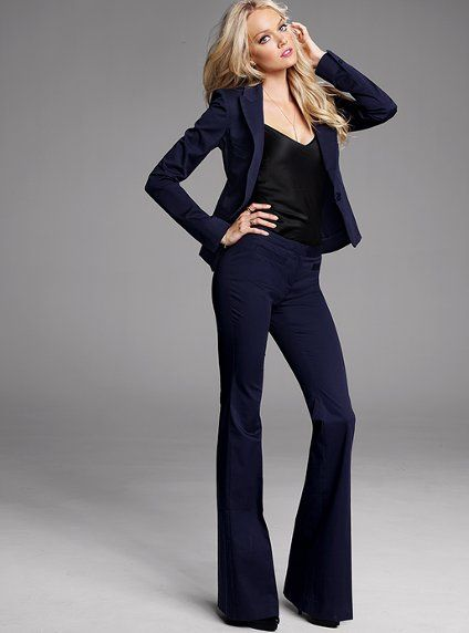 Actually looking forward to wearing professional clothes. As long as victoria's secret keeps making them look sexy.
