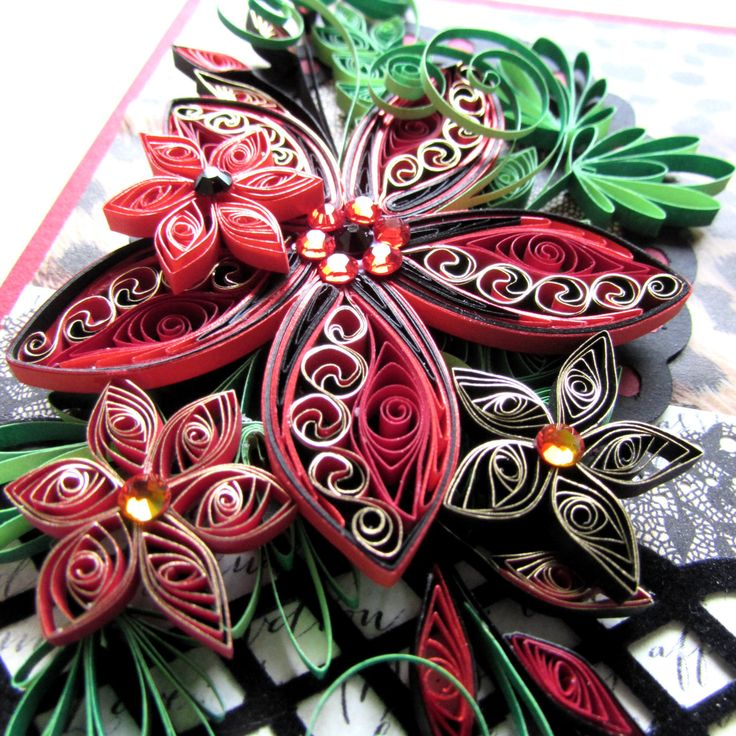 54 best Quilling images on Pinterest Paper crafts, Papercraft - greeting card format