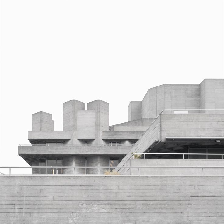 National Royal theater by Minorstep. A brutalist landmark