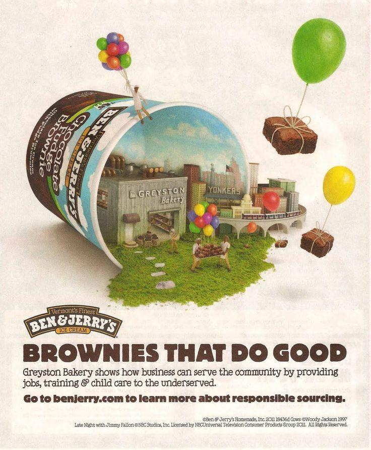 Ben & Jerry's | Advertising | SRD | Branding | Ad design ...