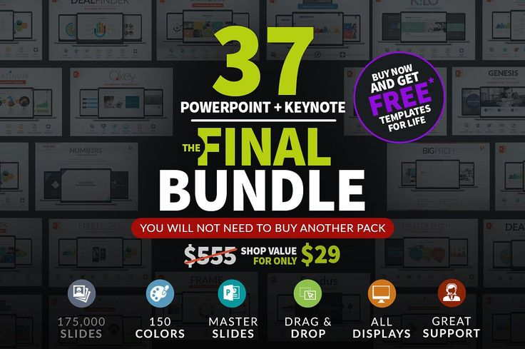 The Final Bundle | 37 Presentations  by Zacomic Studios on @creativemarket