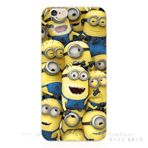 Silicone, capa Despicable Minion amarelo Hulk um olho do mal sorriso caso para Apple iPhone 6 iPhone6 Phone Cases Shell ZBG UZD PUC QEO em Capas para Telefones Celulares de Telefones e Celulares no AliExpress.com | Alibaba Group