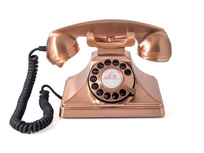 GPO 200 Draaischijf Brons - Telefonie - 123platenspeler.nl
