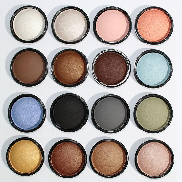 Ombretto Occhi Prezioso Polvere Compatto Luminoso 16 Colori Makeup Dolci Sguardi
