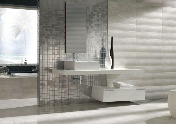 Colección PALACE R75  #estilos #tendencias #ceramica #tile #relieves #mosaic #baño #interiorismo