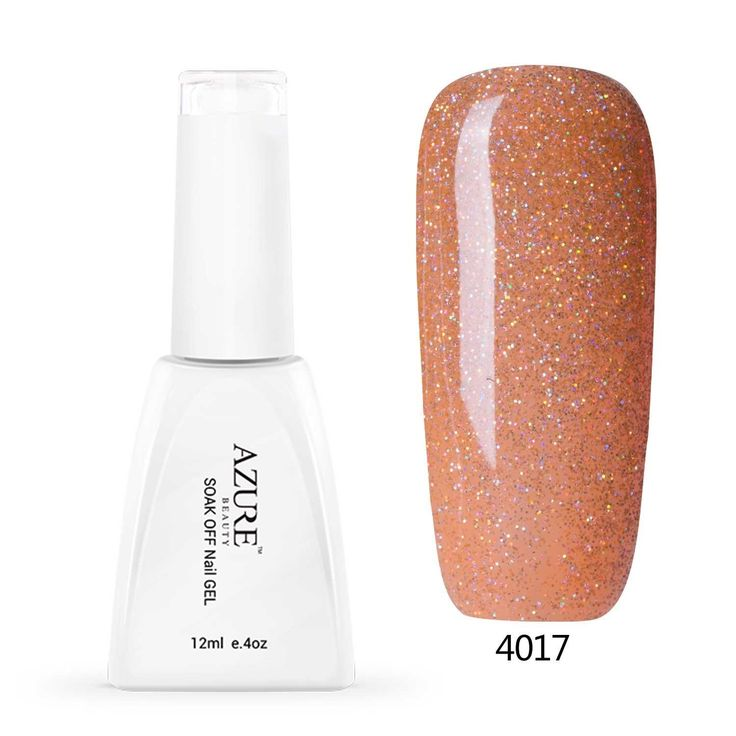 Azure 12ml Colorful Rainbow Gel Polish Soak Off UV LED Nail Lacquer Beauty Art DIY 4017 *** Read more reviews of the product by visiting the link on the image.