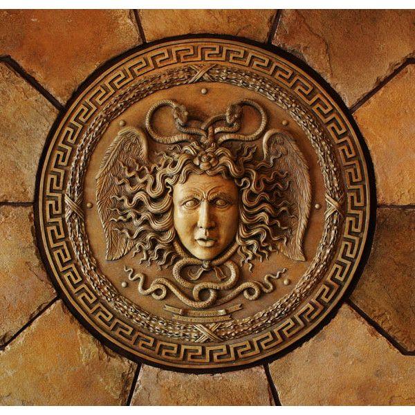 Medusa, Medusa Sculpture, Medusa Art, Greek Mythology, Ancient Greek Art, Greek Sculpture found on Polyvore