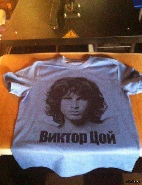 Джим моррисон футболка