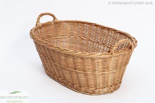 Diesen Korb werden Sie zur Hausarbeit nicht mehr missen wollen. Dank Form und Größe eignet er sich ideal als Wäschekorb. Die Höhe des Korbes passt perfekt unter das Bullauge Ihrer Waschmaschine und Trockner. Er bietet ausreichend Platz für große Wäsche. Durch die beiden stabilen Henkel lässt sich der Wäschekorb mühelos tragen.