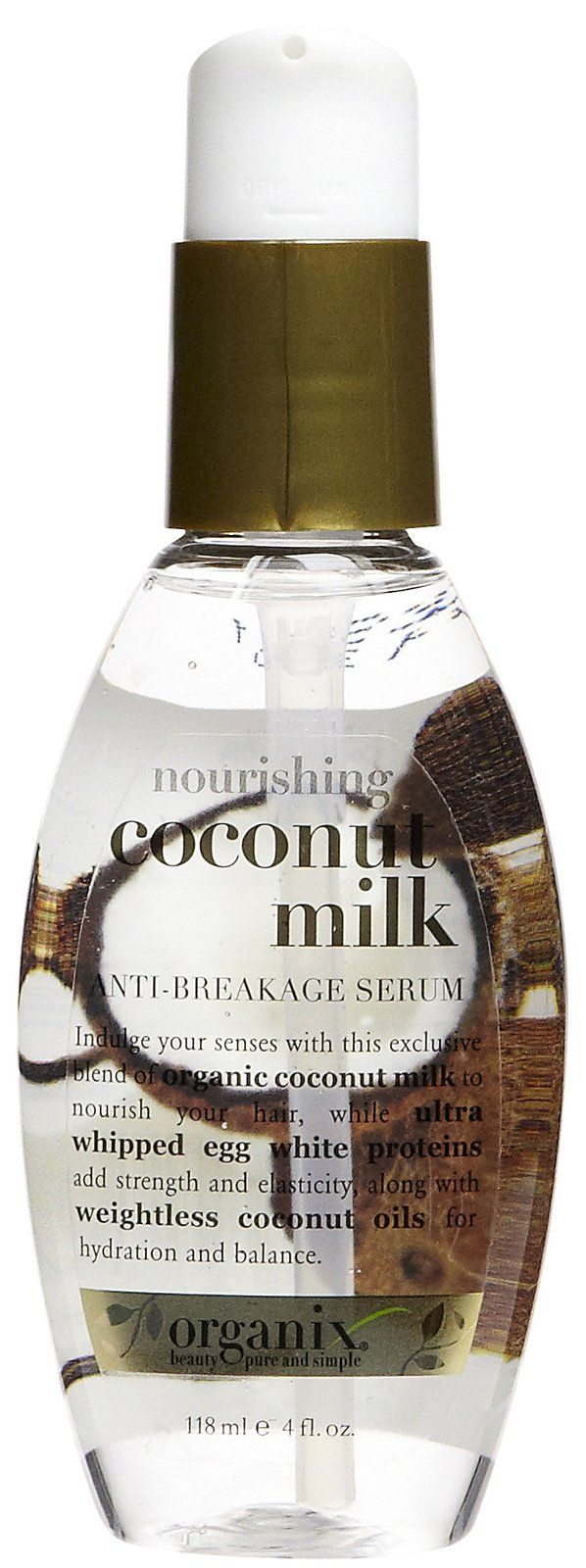 Great leave in treatment for hair.    Organix Nourishing Coconut Milk Leave-In Milk - Best Price
