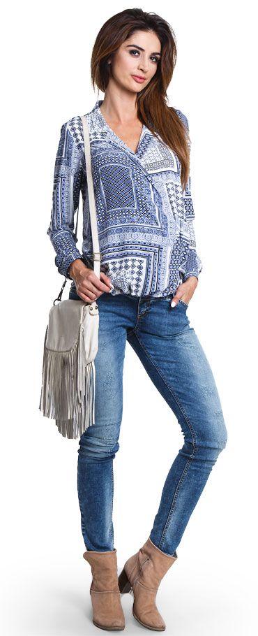 Lipstic джинсы с высоким бандажом и эффектом состаренности  для беременных