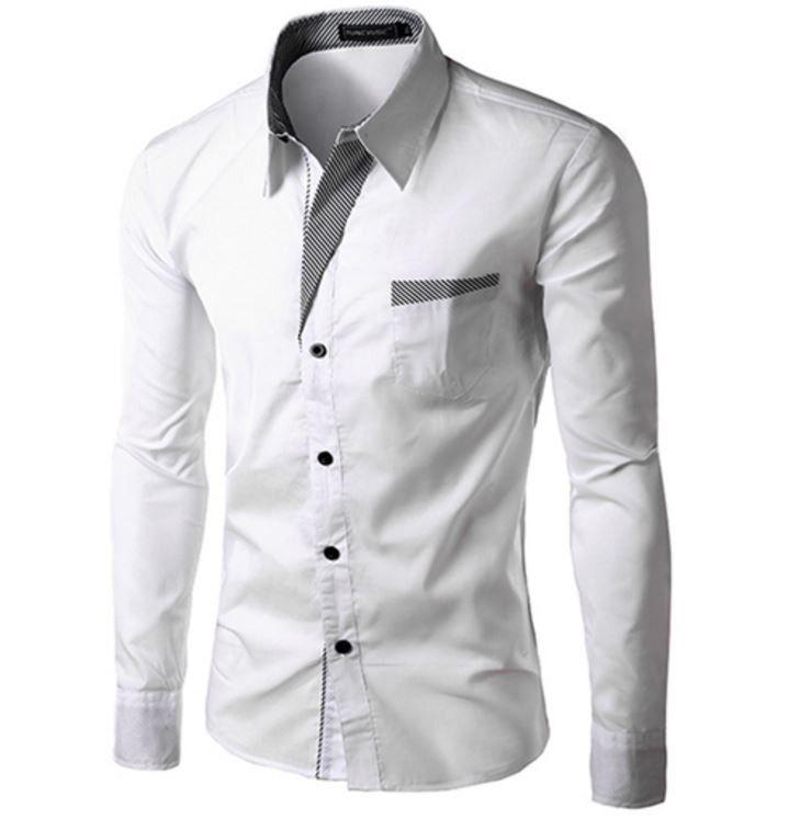 Elegantní pánská slim košile bílá – Velikost L Na tento produkt se vztahuje nejen zajímavá sleva, ale také poštovné zdarma! Využij této výhodné nabídky a ušetři na poštovném, stejně jako to udělalo již velké množství …