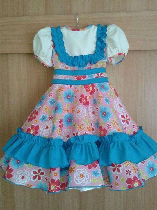 """Chilean """"China"""" dress - vestido de China chilena"""