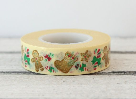Hey, I found this really awesome Etsy listing at https://www.etsy.com/listing/166408354/gingerbread-man-washi-tape-christmas.  Idea for clay ornaments