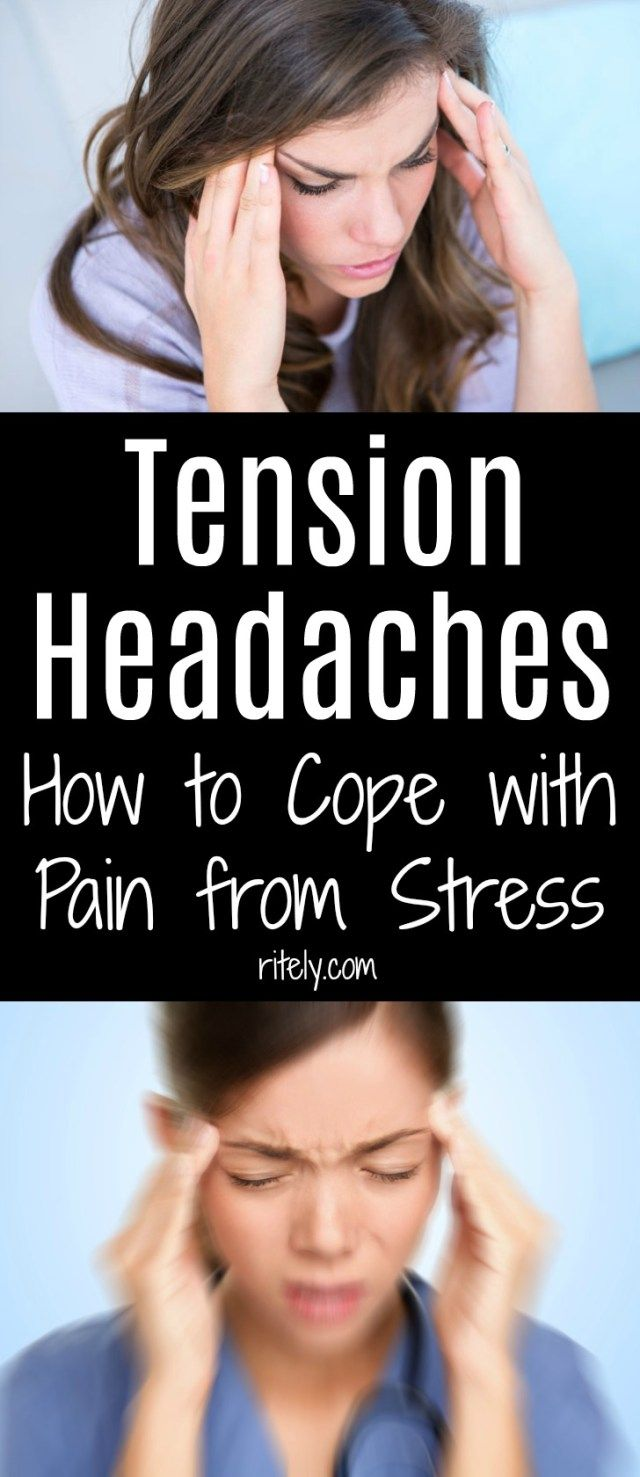 how to stop tension headaches