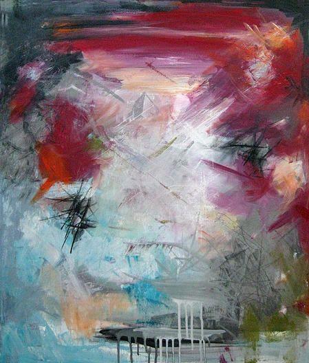 Rikke Laursen moderne abstrakte malerier | M A L E R I E R
