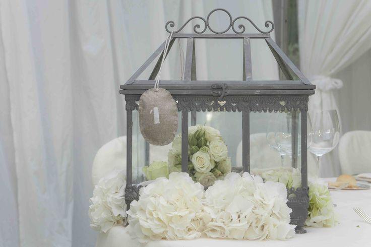 Centrotavola lanterne #matrimonio