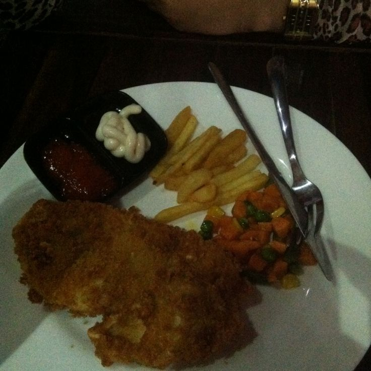 Fish and chips steak