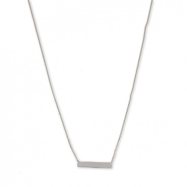 Super Stylish   Necklace   Balance *** De Necklace Balance is een subtiel kettinkje van Super Stylish. Het is vervaardigd van hoogwaardig sterling 925 met hoogglans finish in zilver, rosé of goud. Aan de ketting is een klein, effen embleem bevestigd.