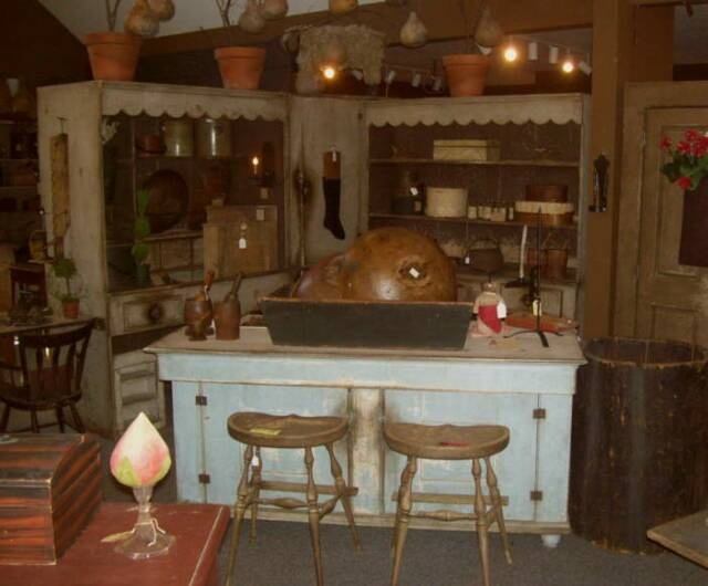 Ye olde time kitchen....