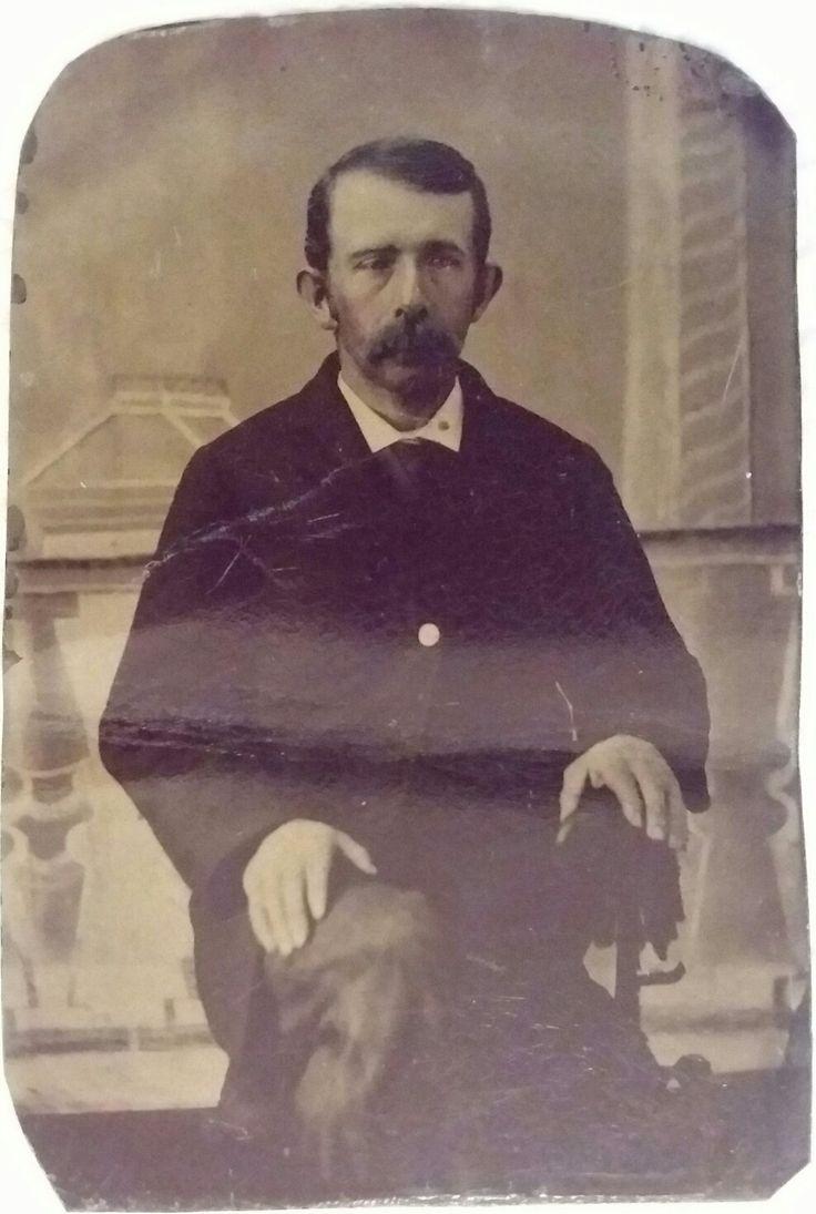 Warren Earp   1/6 plate tintype