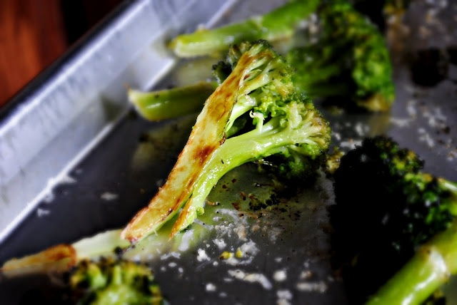 Roasted Broccoli | Vegetarians Have More Fun | Pinterest