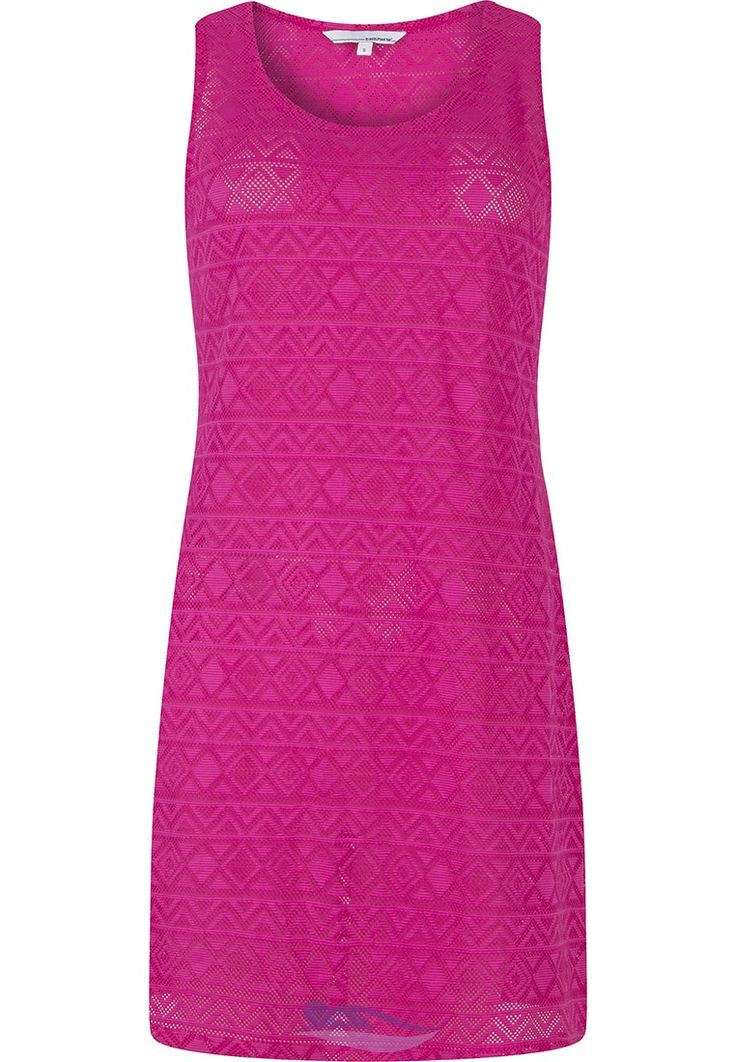 Pastunette Beach fashionable fine crochet pretty pink beach cover-up ....dress style! - Feel feminine whilst covering up this summer!   .