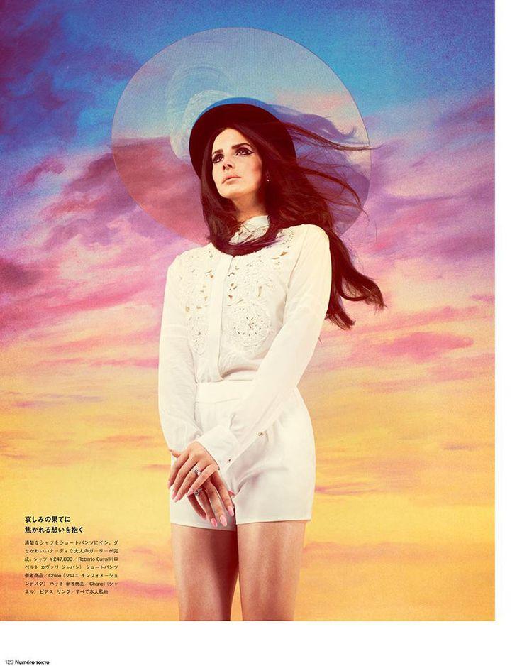 Lana Del Rey Stars in Manga-Inspired Shoot for Numéro Tokyo by Mariano Vivanco