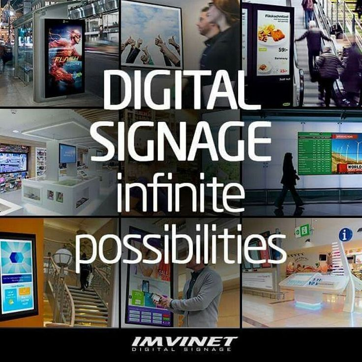 INDOOR Digital Signage is located in a way that can influence the target audience. The typical locations of this type of Digital Billboards are shopping malls shop windows bars hotels pharmacies clothing stores fast food restaurants inside companies as an internal communication channel and a long etcetera that is only limited by imagination.  We know how to make a circuit successful if you want to know more contact us via e-mail to info@imvinet.com or visit our website www.imvinet.com…