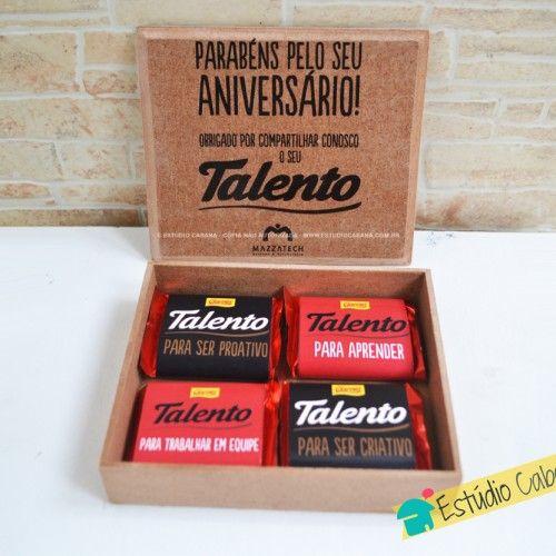 Caixa de Talentos Flat