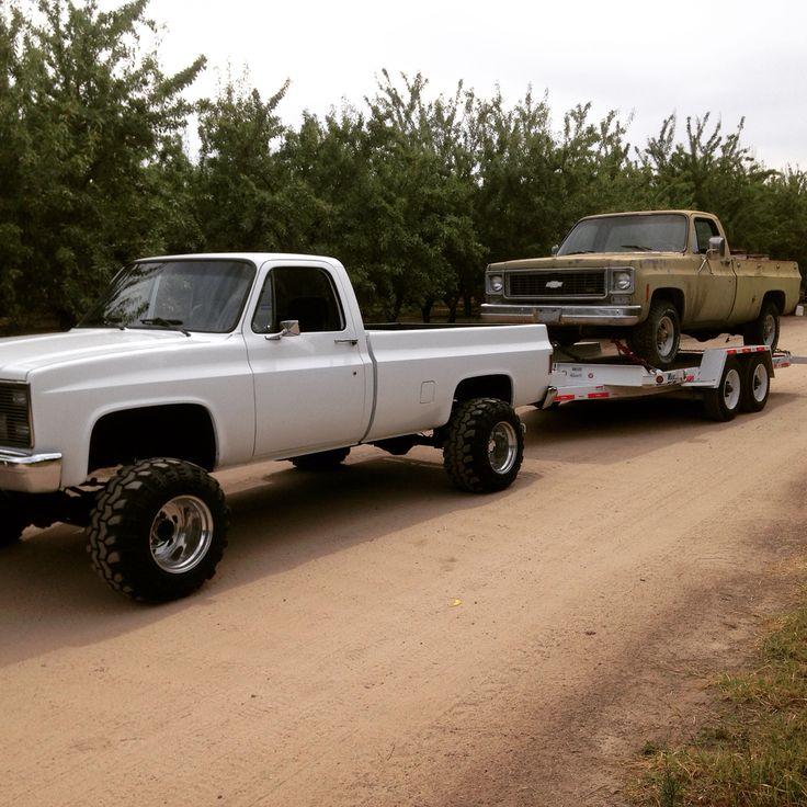 81 Chevy k20 4x4 weld wheels Swampers