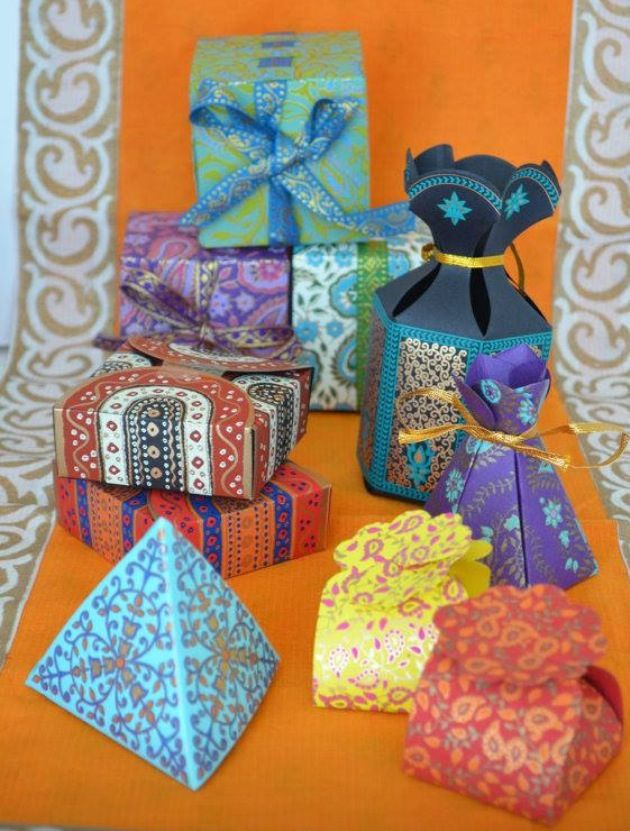 South Asian inspired favours