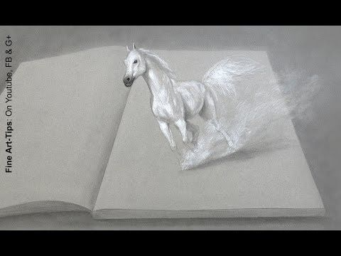 Come disegnare un cavallo in 3d - Guardalo
