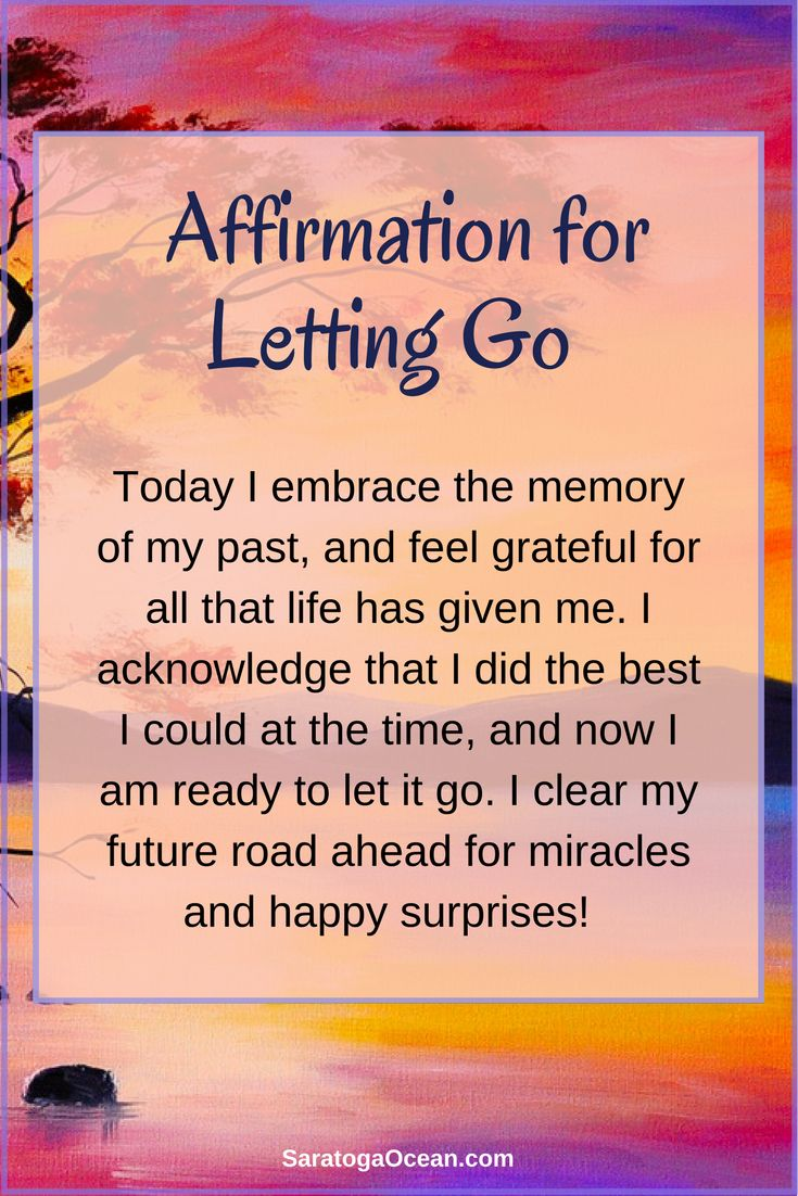 It's always helpful to clear your mind and refresh your spirit to make room for a better future ahead. Try this simple affirmation to help you let go of the past, so you can focus on the wonderful future that you want to create. No matter what has happened in the past, the future offers you a bright, new opportunity for something awesome!