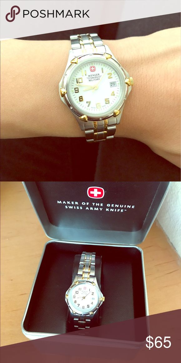 Wenger Swiss Military (women's) Beautiful watch! Never used! Never adjusted band! Wenger swiss military Accessories Watches
