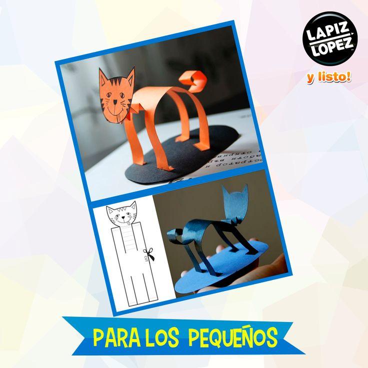 Revisa cómo armar figuras de gatitos para divertir a los más pequeños.