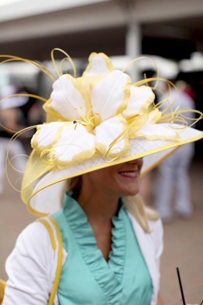 A hat for the races! http://gardenandgun.com/gallery/derby-hats