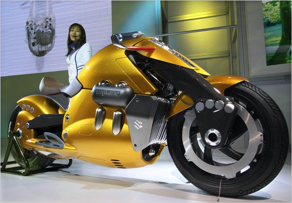 Hot Bikes at the Tokyo Motor Show - The New York Times > Automobiles > Slide Show > Slide 7 of 10