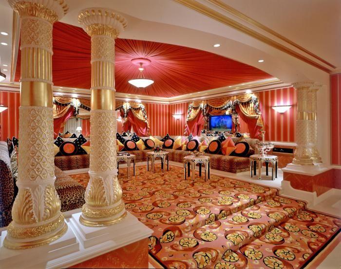 L'aménagement d'un salon marocain moderne