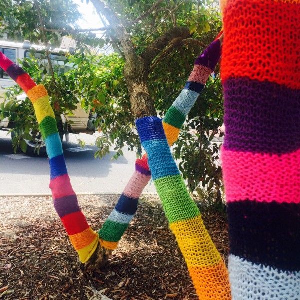 Guerilla Knitting Patterns : 17 Best images about Yarnbombing / Guerilla Knit and Crochet on Pinterest L...