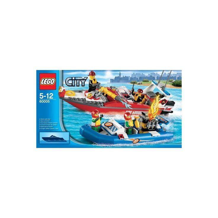Lego City Feuerwehr-Boot (60005)