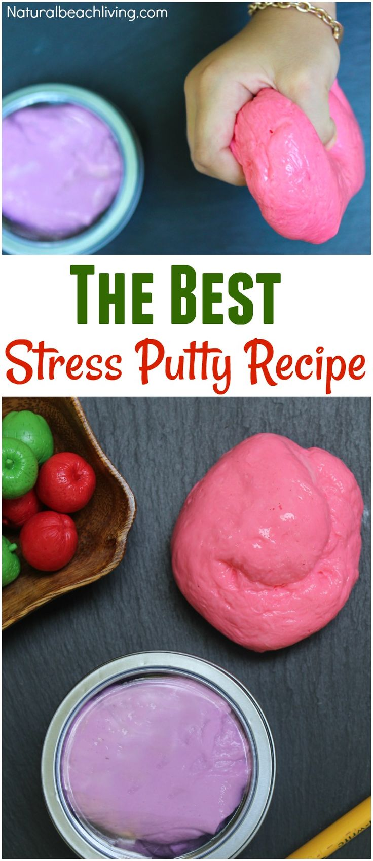 Homemade Therapy Putty Recipe Putty recipe, Silly