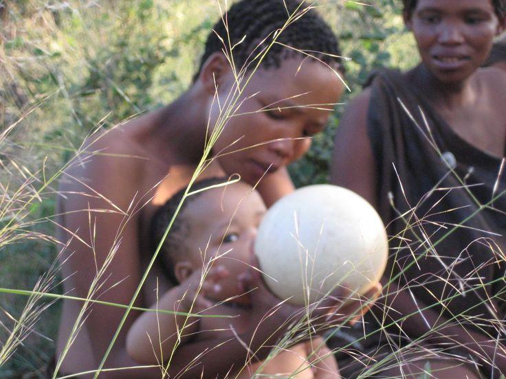 San Bushmen Ostrich egg flask | ancient peoples | Egg ...